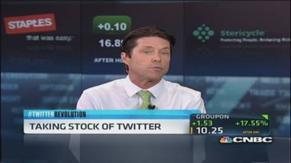 Twitter 'best tool out there' for investors?