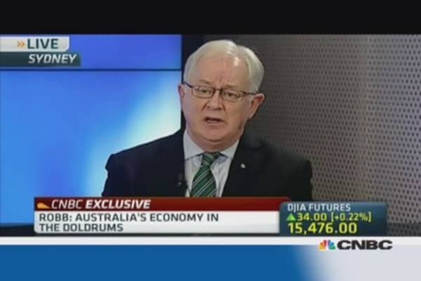 Australia's economy is in the doldrums: Shadow Fin. Min