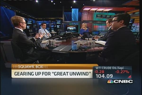 'Great unwind' on the way?