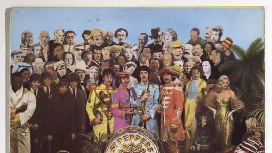 "Peter Blake's ""Sgt Pepper's Lonely Hearts Club Band"" is one of the art works that will be on display"