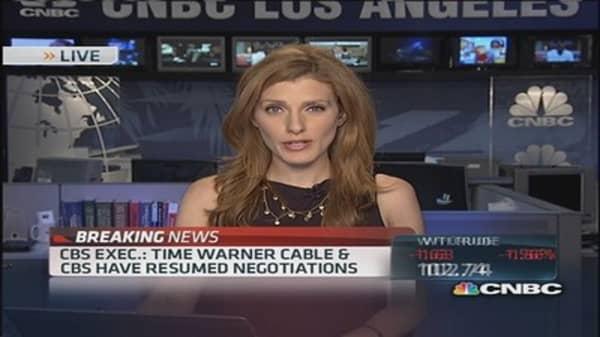 CBS & TWC continue negotiations