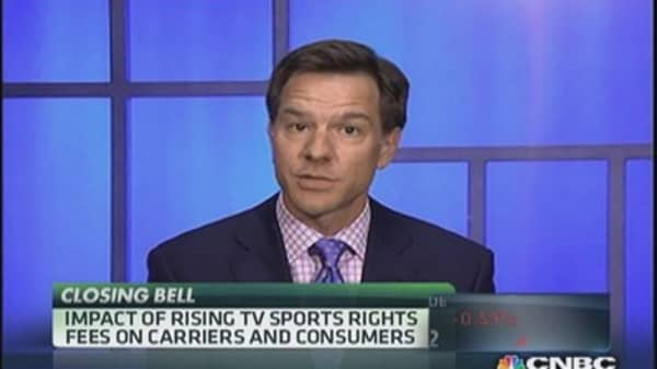 Sports right fees on the rise