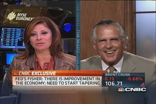 Fisher reveals 'inside secret' candidate to run Fed