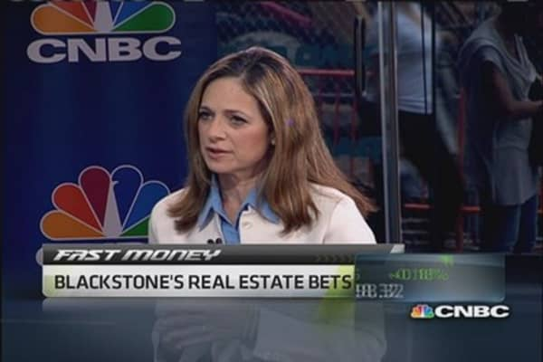 Blackstone's real estate bets