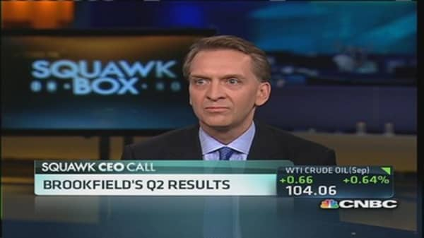 Why Brookfield CEO is 'bullish' on America