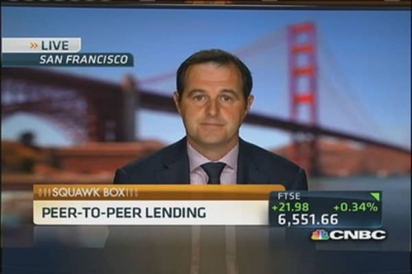 Shadow Banking: Peer-to-peer lending increasing