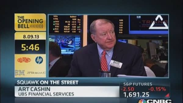 Here's what Cashin's watching today