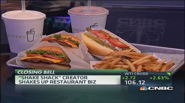 'Shaking' up the restaurant biz 'one burger at a time'