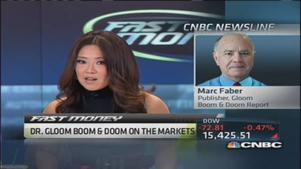 'Too early' to buy emerging markets: Marc Faber