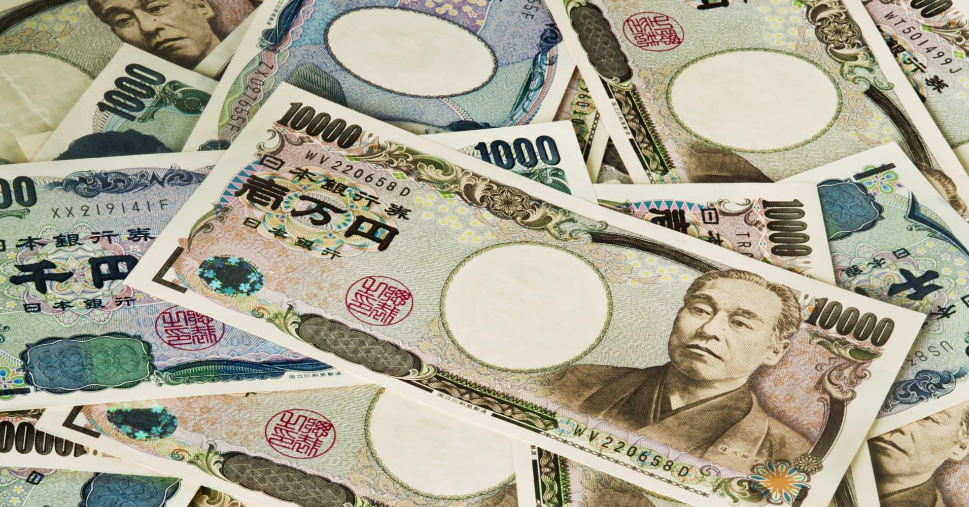 Japan's debt looks like this: 1,000,000,000,000,000 yen