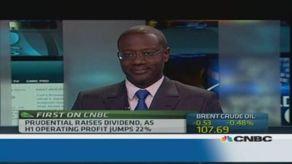 Prudential CEO: We have high organic growth