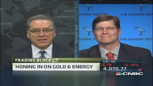 Honing in on gold and energy
