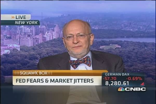 Expect a 'very messy' September: S&P's Blitzer