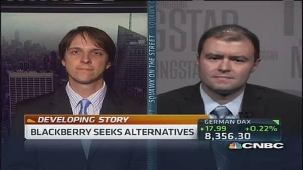 BlackBerry seeks strategic alternatives