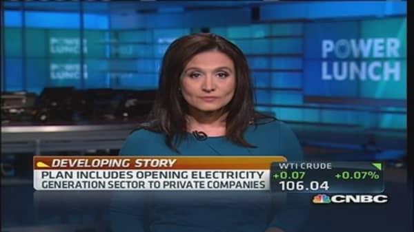 Mexico's energy overhaul plan