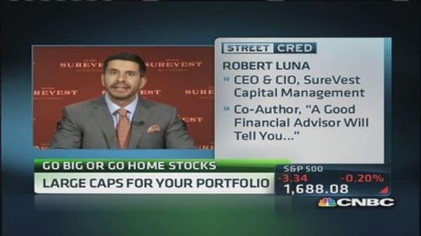 Go big or go home stocks