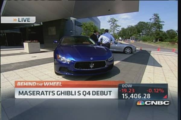 Maserati for the middle class?