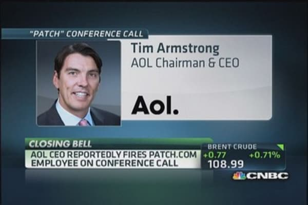 AOL's CEO embraces his inner Donald Trump