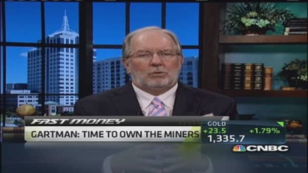 Gartman: I'm going to avoid silver