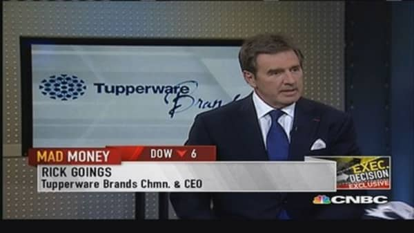 Tupperware CEO: The dividend is sacred