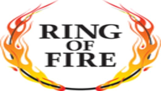 Ring of Fire Radio Logo