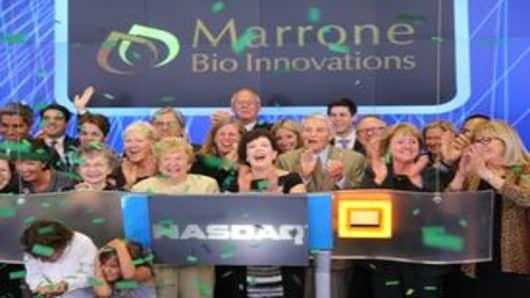 Marrone Bio Rings NASDAQ Opening Bell