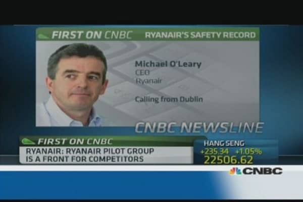 Ryanair CEO: Ryanair Pilot Group is a joke