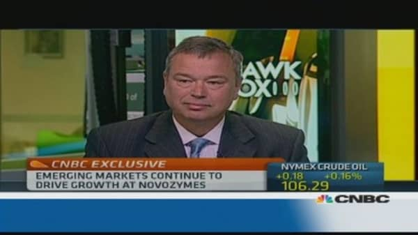 Novozymes CEO: China is starting to limp