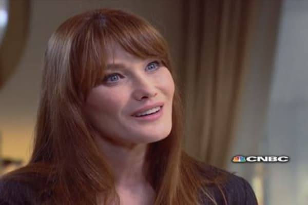 Carla Bruni-Sarkozy on the Bettencourt affair