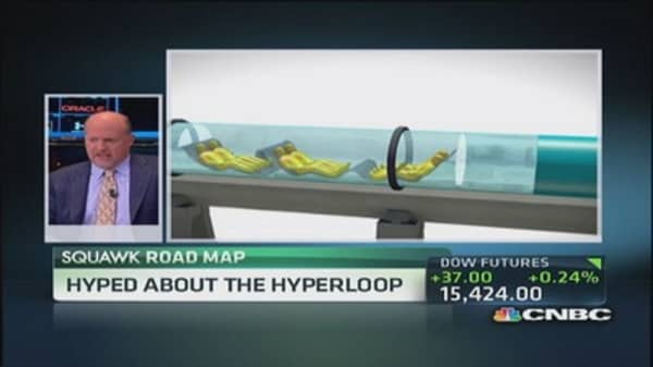 Hyped about the Hyperloop