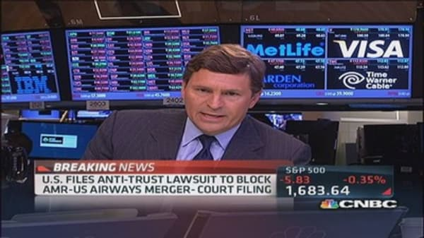 US files anit-trust lawsuit