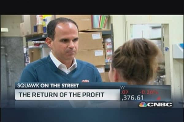 The return of 'The Profit'