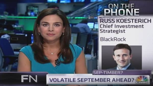 BlackRock Strategist: Four reasons why September will be rocky