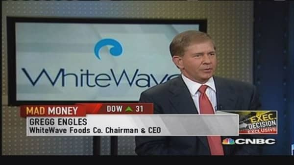WhiteWave Foods CEO: Plant-based beverages are sustainable