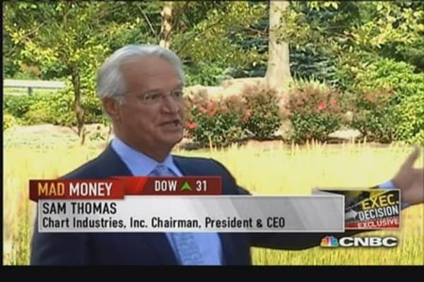Chart Industries CEO on 'Orca' trucks & LNG