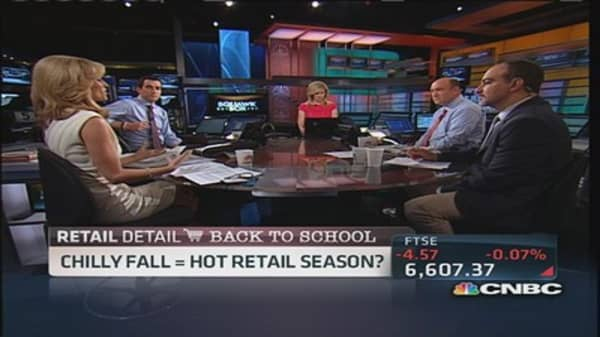 Chilly fall could make hot time for retailers
