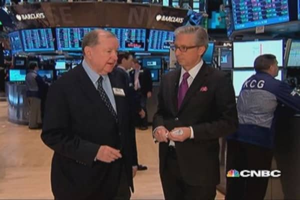 Art Cashin's take on market 'anomaly'
