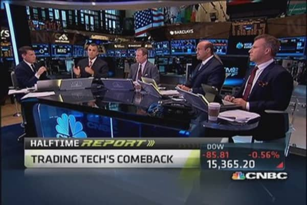 'Incredibly bullish' on tech, trader says