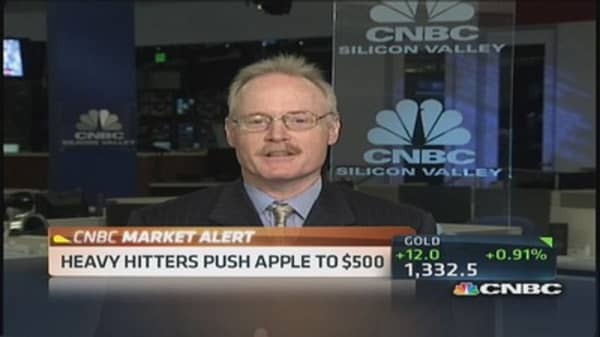 'I'd rather hold my nose' and buy Apple