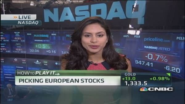 Picking European stocks