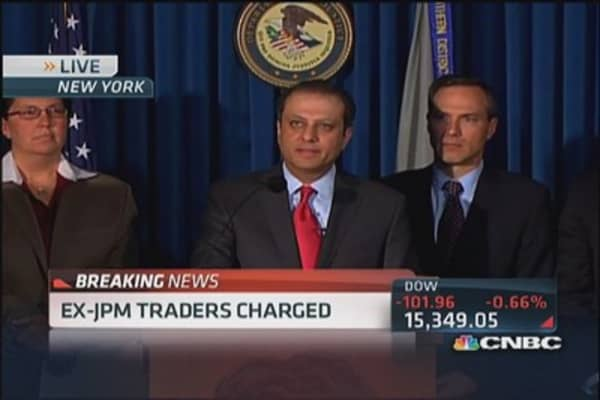Bharara states charges to ex-JPM traders