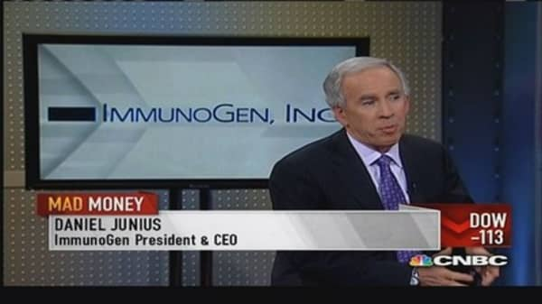 ImmunoGen CEO: Toxicity is a normal course for drug development