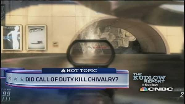 'Call of Duty' too addicting?