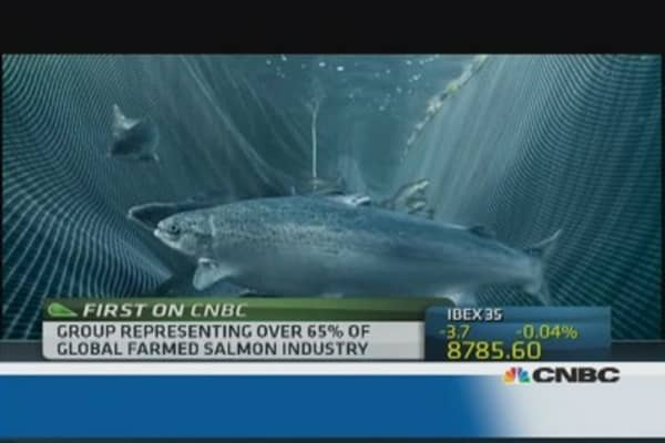 Salmon industry faces constant challenge : CEO