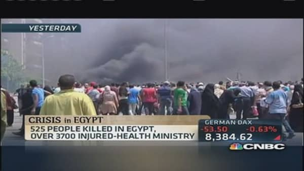 Death toll rises in Egypt; civil war fears surface