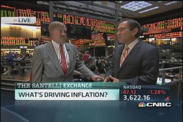 Santelli Exchange: What's driving inflation?