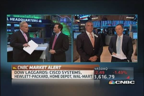 Headwinds for stocks
