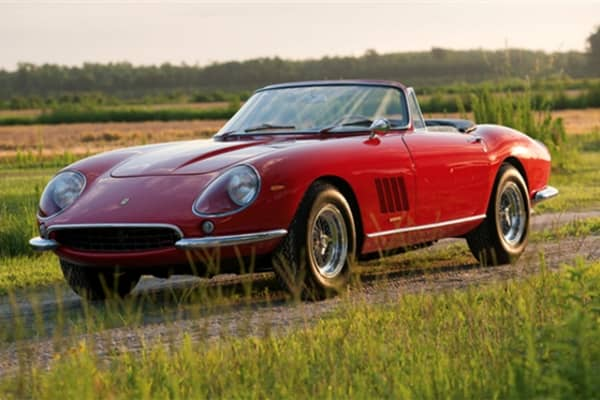 The Ferrari 275 GTB/4*S NART Spyder was one of only 10 of its kind ever built.