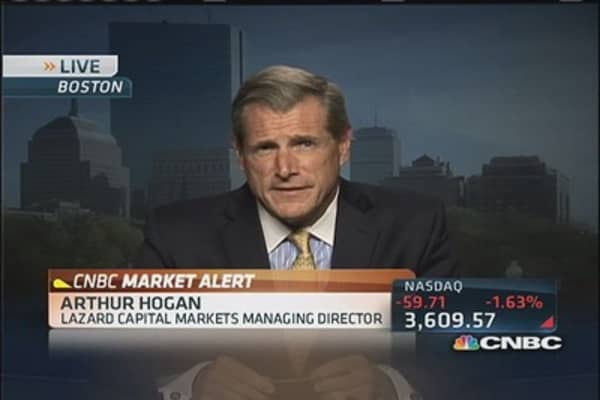 Hogan: July consumer took a break