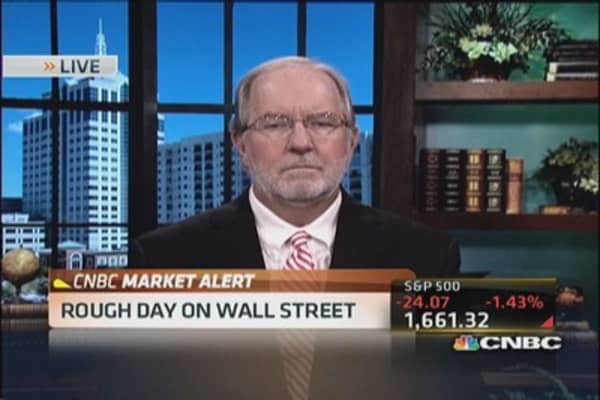 Gartman: Trades in stock market are terrible, I want out